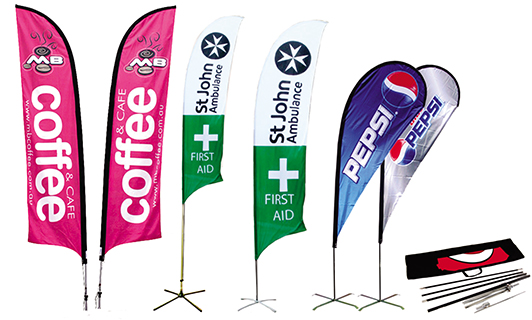 Custom Advertising & Car & Country Flags & Feather Flags & Display